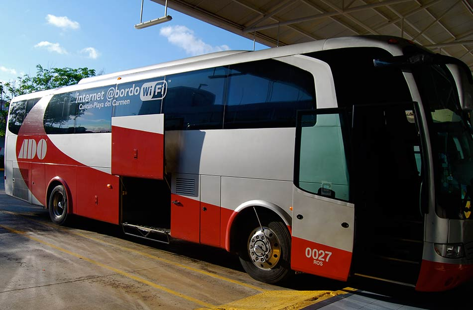 ADO Bus from Cancun