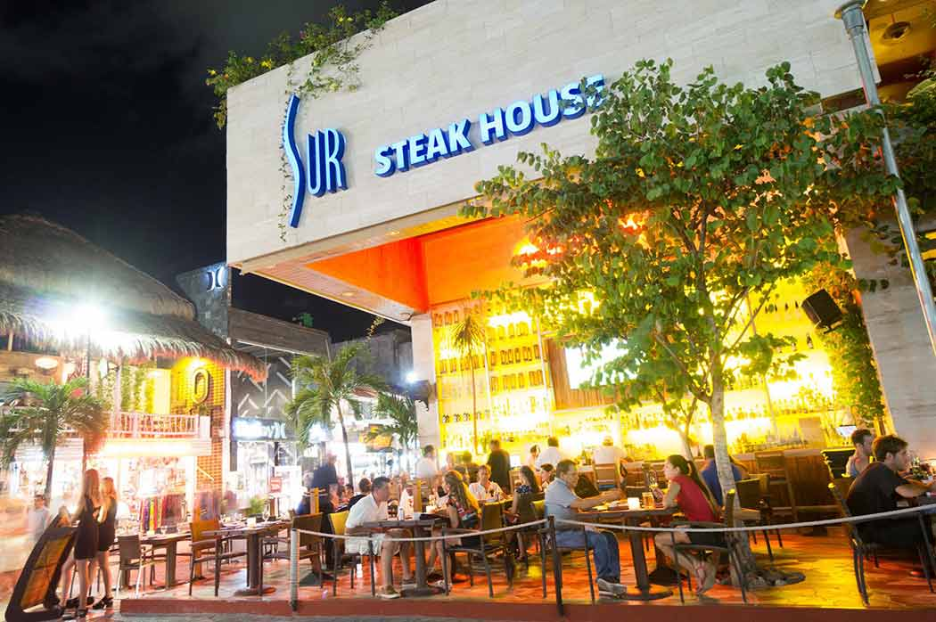 Sur Steakhouse Playa del Carmen